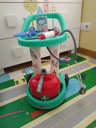 carro médicos Peppa pig