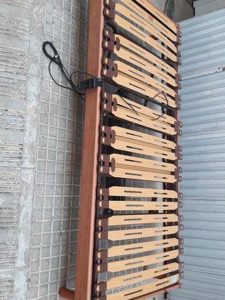 Cama individual articulada 90 y 105 a motor
