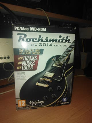 Juego Rocksmith PC Versión Actualizada + cable