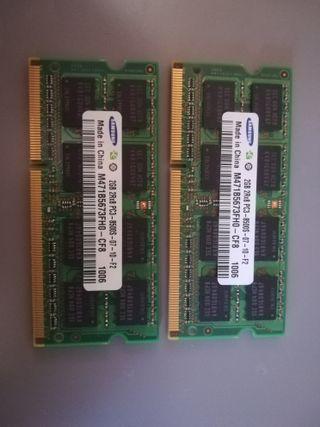 Memoria 4GB RAM DDR3 para portatil