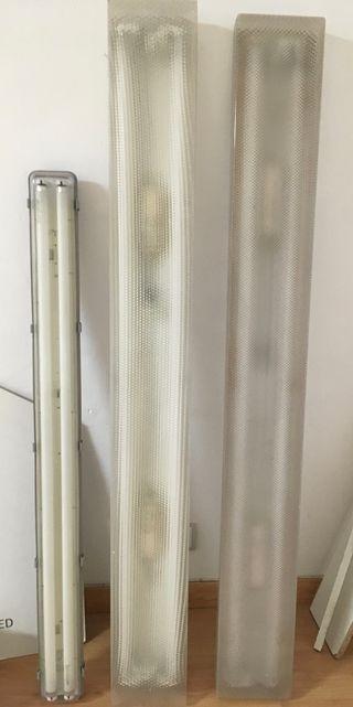 Lampara Fluorescente de techo-Regleta fluorescente