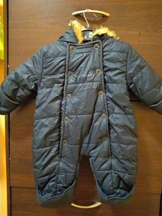 traje de nieve para bebé 3 meses