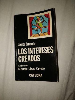 Los intereses creados, de Jacinto Benavente
