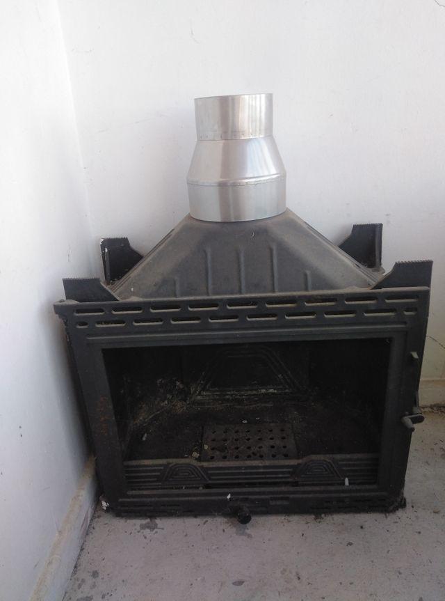 chimenea de casete