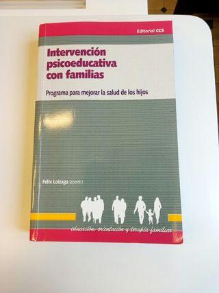 Intervención psicoeducativa con familias.