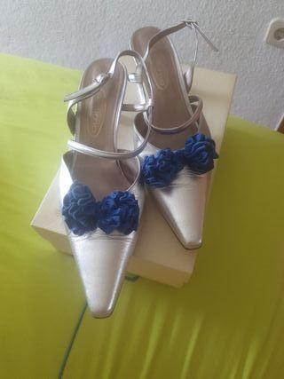 Zapatos Fiesta de piel número 42