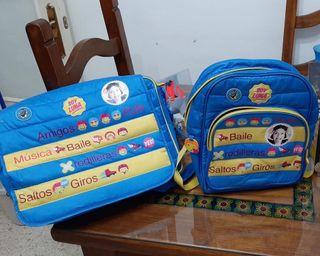 Mochila , maleta para niñas