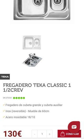 Fregadero Teka NUEVO!