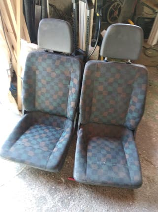 4 asientos traseros mercedes vito