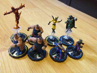 Figuritas Marvel Heroclix - 2 € cada una