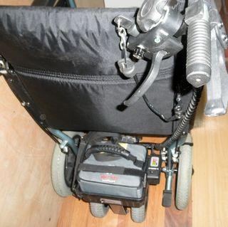 Silla de ruedas eléctrica para acompañante