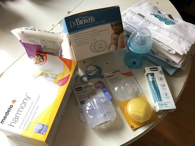 Paquetes Para Bebes Recien Nacidos.Paquete Para Bebe Recien Nacido Y Nueva Mama De Segunda Mano