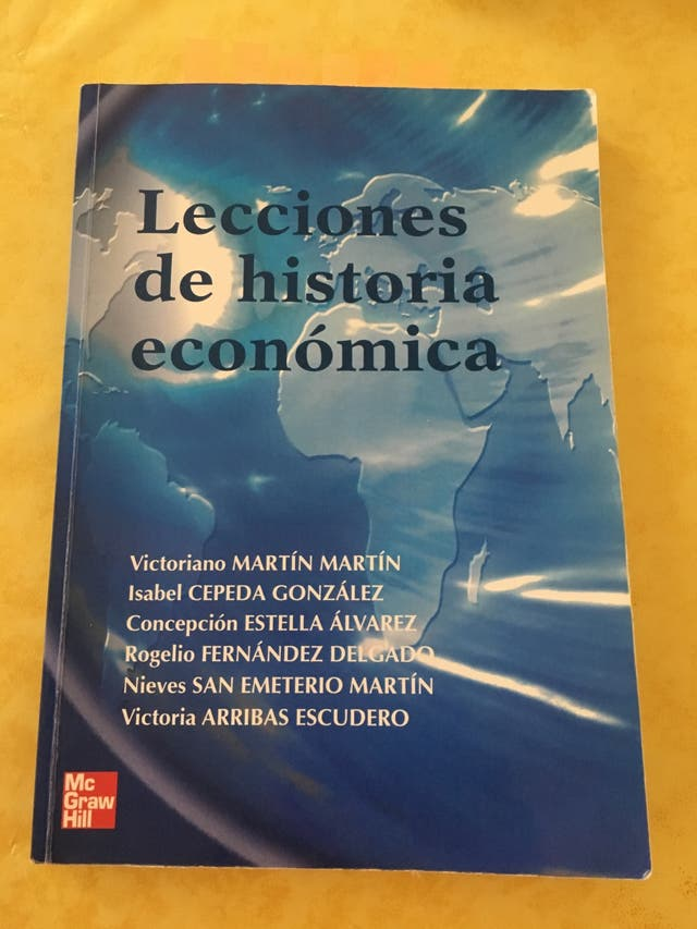 Historia económica ADE