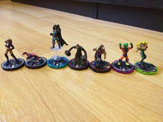Figuras Marvel Heroclix - desde 3€ unidad