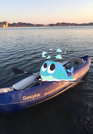 Kayak hinchable decatlon