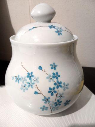 Azucarero porcelana francesa de Limoges