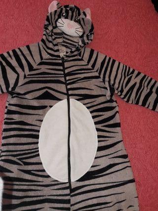 Pijama mono animal