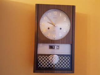 Reloj de pared pendulo Seiko 30 day