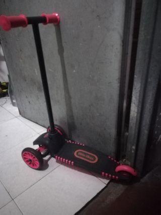 patinete adaptable para niñas hasta 5 años