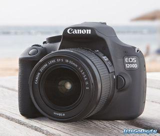 Canon 1200D (como nueva) 18mp Full HD 1080p