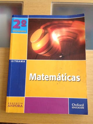 Libro matemáticas 2do secundaria Proyecto Anfora