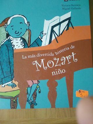 La más divertida historia de Mozart niño