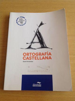 Libro ortografía castellana editorial almadraba