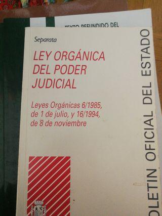LIBRO LEY ORGÁNICA DEL PODER JUDICIAL