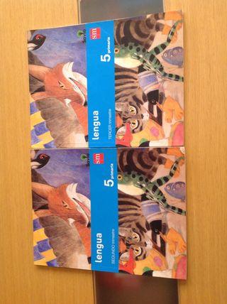 Libros lenguaje 5to primaria