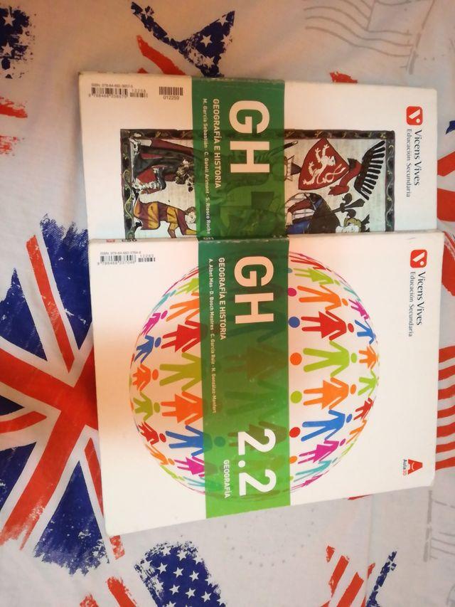 libros de geografía e historia 2 ESO