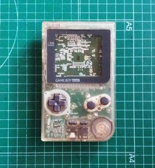 Game Boy Pocket piezas