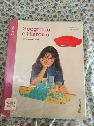 Libro Geografía e Historia SANTILLANA