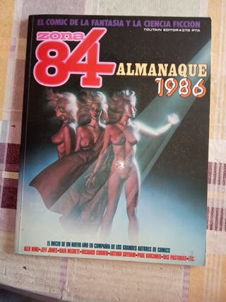 ZONA 84 ALMANAQUE 1986, TOUTAIN