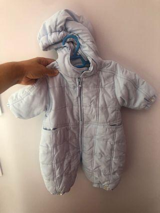 Mono abrigo bebe invierno abrigo 1-3 meses