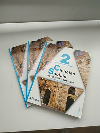 libro 2° eso geografia e historia Anaya