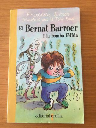 Libro El bernat Barroer i la bomba fètida