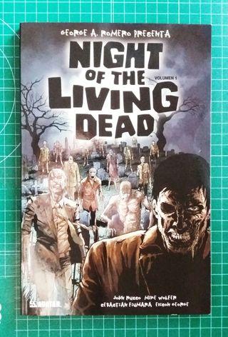 Cómic La Noche de los Muertos Vivientes