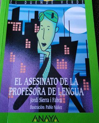 El asesinato del profesor de lengua