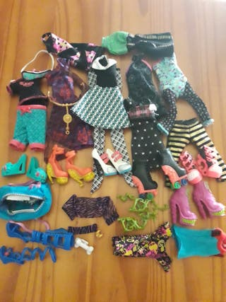 lote ropa monster high