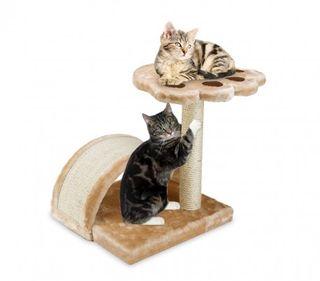 Árbol De Entrenamiento Para Gatos Con Columna En S