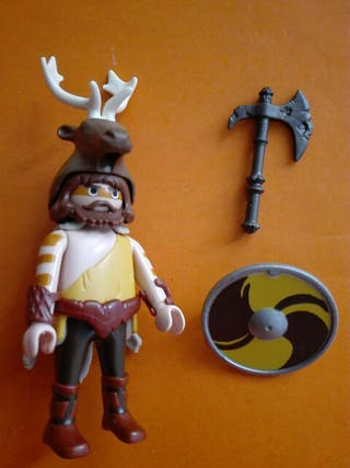 Playmobil bárbaro guerrero celta galo vikingo roma
