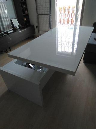 Mesa de comedor/sofa abatible