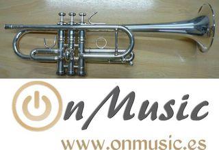 Trompeta Do Stomvi Mahler Titanium plata