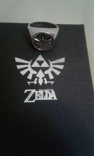 anillo tipo sello del juego zelda