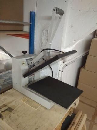 Prensa transfer estampación Metalnox 45x35 cm