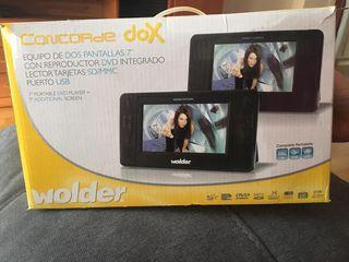 reproductor dvd dos pantallas