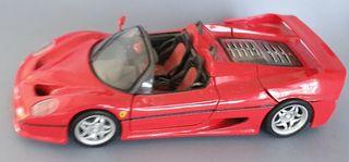 Ferrari F50 descapotable escala 1:18 Maisto