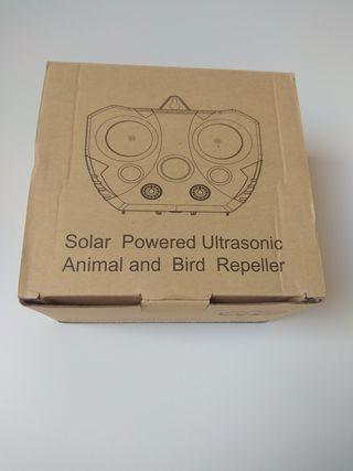 repelente ultrasónico para animales