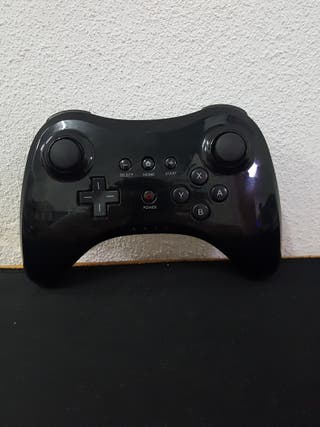 Mando Pro Compatible Inalambrico Negro N Wii U
