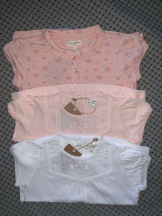 Pack 3 camisetas NUEVAS talla 3-4 años